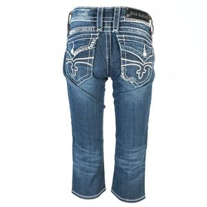 Rock revival Jen Capri jeans
